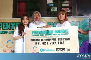 "Baiq Nuril Terima Donasi via ""Akubisa.com"" Rp 421,7 Juta"