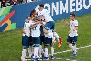 Hasil Bola: Argentina Vs Meksiko 4-0, Lautaro Martinez Hat-Trick