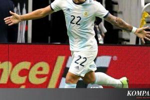 Argentina Vs Meksiko, Hattrick Lautaro Martinez Menangkan Albiceleste