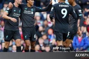 Klasemen Liga Inggris Jelang Pekan Ke-5, Liverpool Masih di Puncak