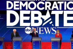 Apa Saja yang Dibahas Dalam Debat Pilpres AS Partai Demokrat?