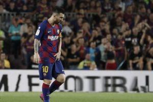 Cedera di Barcelona vs Villarreal, Messi Terancam Absen Lagi