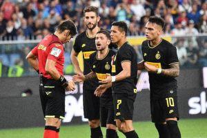 Kemenangan Inter atas Sampdoria Dinodai Kartu Merah Sanchez