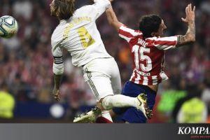 Hasil Liga Spanyol - Barcelona Menang, Atletico vs Real Madrid Imbang