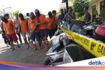 6 Pencuri Sepeda Motor Didor Polisi di Indramayu