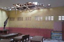 Angin Kencang Robohkan Atap Sekolah, Siswa Pindah ke Madrasah