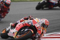 Repsol Honda 'Paksa' Marquez Kerja Keras di MotoGP Valencia