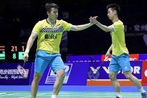 Kata Kevin / Marcus Usai ke Semifinal Fuzhou Open 2019