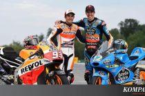 Bisa Jadi Rekan Setim, Alex dan Marc Marquez Akan Cetak Sejarah MotoGP