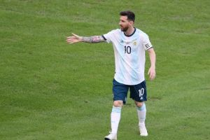 Hasil Bola: Argentina Vs Uruguay 2-2, Messi dan Suarez Cetak Gol