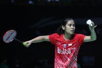 Gregoria Mau Bangkit di Indonesia Masters Demi Olimpiade 2020