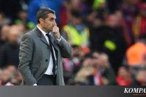 Atelico Madrid Vs Barcelona, Valverde Jelaskan Situasi Dembele
