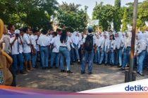 Siswa SMKN di Mojokerto Demo dan Enggan Ikut Ujian, Ini Sebabnya
