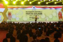 Buka Munas Golkar, Airlangga: Terima kasih Mas Bambang Soesatyo