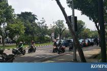 Ditutup Setelah Ada Ledakan, Jalan Medan Merdeka Utara Dibuka Kembali