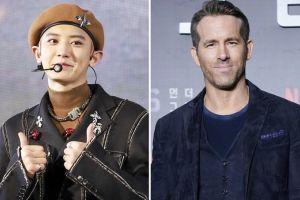 Chanyeol Ngefans Berat, Bahagia Bisa Foto Bareng Ryan Reynolds dan Kostum Deadpool Di-Notice