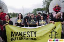 Peringati Hari HAM Sedunia, Aktivis Bawa Bingkisan untuk Presiden