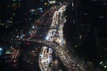 93 Pengendara di Jalan Tol Dalam Kota Ditilang Malam Ini