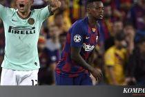 Link Live Streaming Inter Milan Vs Barcelona, Kickoff 03.00 WIB
