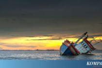 Ditabrak, Kapal Pengangkut Semen Tenggelam di Pelabuhan Lembata