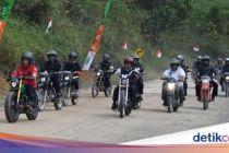 Menteri Jokowi Ikut Motoran, Erick Thohir Diingatkan Pakai Helm