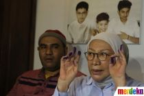 Ekspresi Ratna Sarumpaet Setelah Bebas Bersyarat