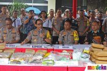 Polda Metro Jaya Ungkap Kejahatan Narkotika Akhir Tahun 2019
