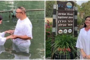 7 Momen Felicya Angelista baptis di Sungai Yordan, penuh sukacita