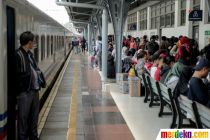 Libur Tahun Baru, 23 Persen Tiket Kereta dari Jakarta Masih Ada