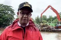 Anies Tak Mau Salahkan Siapapun soal Banjir Jakarta