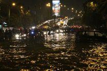 Pom Bensin Shell Daan Mogot Dikabarkan Terbakar di Tengah Banjir