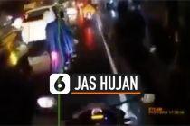 VIDEO: Waspada Pakai Jas Hujan Ponco bagi Pengendara Motor