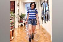 Tetap Kece Saat Banjir, Yuni Shara Panen Pujian