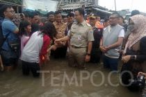 Jakarta Banjir, PDIP Tagih Janji Kampanye Anies Baswedan