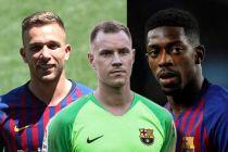 Barcelona Kehilangan Tiga Amunisi Hadapi Derby Catalan