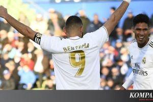 Getafe Vs Real Madrid, El Real Kembali ke Jalur Kemenangan