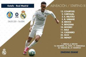 Susunan Pemain Getafe vs Real Madrid: Berharap Gareth Bale