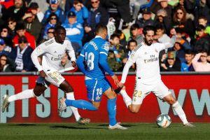 Babak I Getafe vs Real Madrid: Los Blancos Sementara Unggul