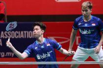Kevin / Marcus Gagal, Fajar / Rian ke Semifinal Malaysia Masters