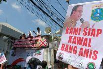 Bang Japar Kawal Gubernur Anies Dari Demonstrasi Banjir Jakarta