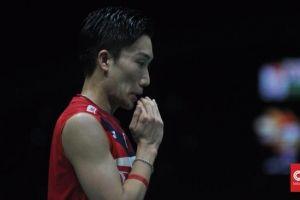 Kento Momota Kecelakaan Jelang Indonesia Masters