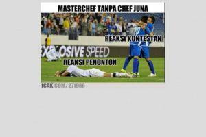10 Meme lucu 'nonton acara MasterChef' ini bikin ketawa depan TV