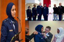 Salut! Ini Muslimah Berhijab Pertama di Angkatan Udara Amerika Serikat
