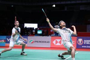 Fajar/Rian Jumpa Ahsan/Hendra di Semifinal Indonesia Masters