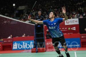 Jonatan Gagal ke Semifinal Indonesia Masters 2020