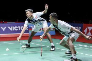 Indonesia Masters 2020: Fajar/Rian Tuntaskan Dendam ke Astrup/Andres