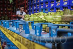 Harga Gas LPG 3 Kg Naik, Jokowi: Angkanya Belum Ada