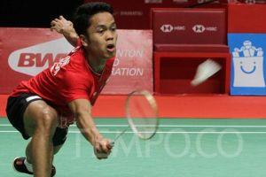 Anthony Ginting ke Final Indonesia Masters