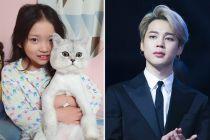 Aktris Cilik Koo Sa Rang Dikritik Aniaya Kucing di Video Unboxing Kado Jimin BTS