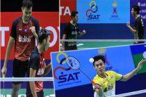 Parade Kemenangan Bintang Bulu Tangkis Indonesia di Thailand Masters